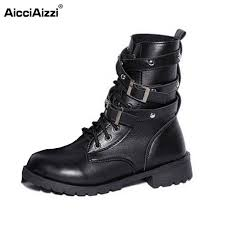 short black motorcycle boots aliexpress com buy women flat ankle boots womens motorcycle boot