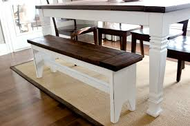 Ana White Farmhouse Bench Brilliant Farmhouse Table Benches And Ana White Triple Pedestal