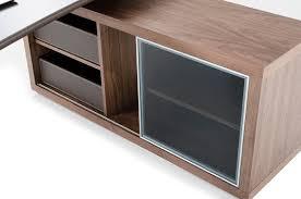 Storage Cabinet Lincoln Modern Office Desk W Side Storage Cabinet