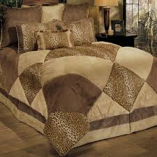 Tiger Comforter Set Cheetah Print Comforter Set Ballkleiderat Decoration