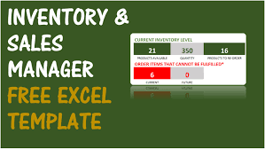 Inventory Excel Templates Free Inventory Management Software In Excel Inventory