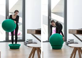 siege en forme de siège en forme de ballon de idéal pour un bon maintien chez ksl