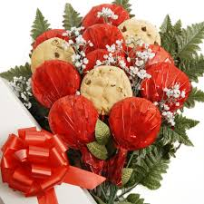 Cookie Bouquets Sugar Free Cookie Bouquets Luscious Longstems Boxed Cookie Bouquet