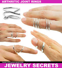 knuckle finger rings images Arthritic joint rings jewelry secrets jpg