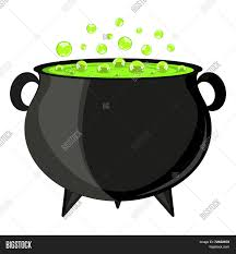 halloween coldren background black cauldron witches potion for halloween stock vector u0026 stock