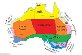 australia map of cities climate map shows which countries the same weather as
