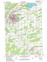 Madison Wi Map Ladysmith Topographic Map Wi Usgs Topo Quad 45091d1