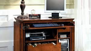 Computer Armoire Corner 9 New Corner Computer Armoire Home Design Ideas