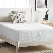 wayfair mattress lucid 14 plush gel memory foam mattress reviews wayfair
