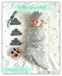 birth announcement girl birth announcement by www alphabetmonkey au now www