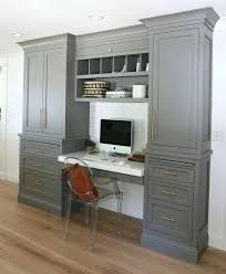 Built In Desk Ideas For Home Office Built In Office Desk Glassnyc Co