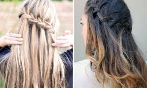 Frisuren Lange Haare Wasserfall by Frisuren Mit Wasserfall Zopf Ein Absoluter Trend Veniccede Me