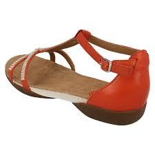 ladies clarks diamante detail opentoe sandals raffi star grenadine
