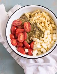quick and easy pesto pasta salad u2014 bless this mess