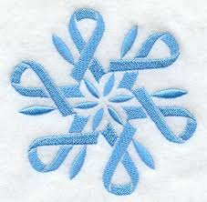 snowflake ribbon machine embroidery designs at embroidery library embroidery library