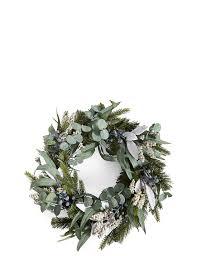 wreath christmas wreaths u0026 garlands xmas wreaths u0026 garlands m u0026s