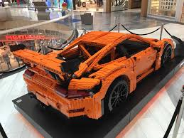 technic porsche 911 gt3 rs epic full sized porsche 911 gt3 rs car in sweden gtspirit