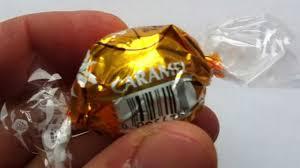 lindt halloween candy lindt lindor caramel review youtube