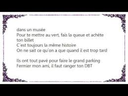 La Meme Histoire Lyrics - joe dassin le grand parking lyrics youtube
