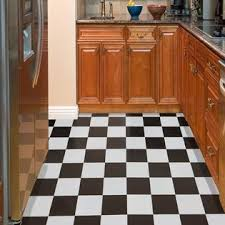 nexus black white checker board 12 x 12 vinyl floor tile
