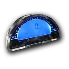 danmoto 180 digital cockpit speedometer tachometer gauge speedo