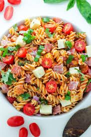 best pasta salad recipe 15 minute italian pasta salad baker by nature