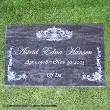 flat headstones individual flat wif 019 grave marker ideas