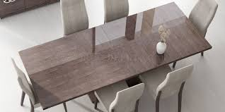 dining table in high gloss walnut by esf w options prestige dining table in high gloss walnut by esf w options