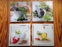 glasbilder küche glasbilder quadratisch küchenmotiv dekoration küche in