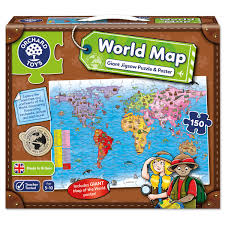 World Map Continents And Countries by World Map Puzzle U0026 Poster