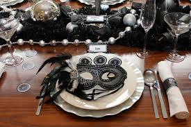 New Year S Eve Dinner Decoration by New Years Eve Masquerade Dinner Party U2014 Chic Party Ideas