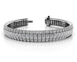 classic diamond bracelet images Classic prong illusion set diamond tennis bracelet roco 39 s jpg
