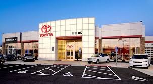 toyota car dealership byers toyota renier construction