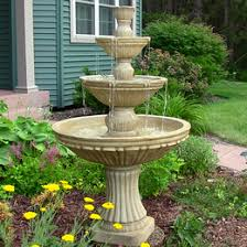 Backyard Fountains For Sale by Tiered Outdoor Fountains Free Shipping On All Courtyard Fountains