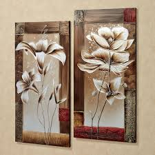 wall art awesome floral canvas wall art remarkable floral canvas