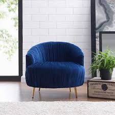 Blue Saucer Chair Chairs Costco