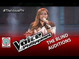 Carol Blind The Voice Of The Philippines Blind Audition U201ctattooed Heart U201d By