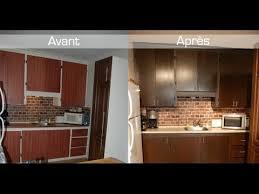 peinturer armoire de cuisine en bois technique de transformation d armoires ou meubles à petit prix