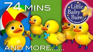five ducks plus lots more nursery rhymes 74 minutes