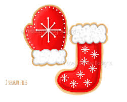 christmas cookie clipart christmas stocking clipart mitten