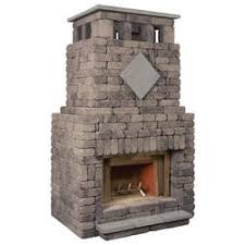 Unilock Fireplace Kits Price Outdoor Fireplaces At Menards