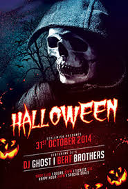 Halloween Flyer Templates For Your Horror Event