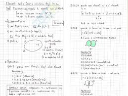 dispense analisi 1 insiemi appunti di analisi matematica
