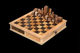 chess styles chicago architecture chess set steve vigar designs