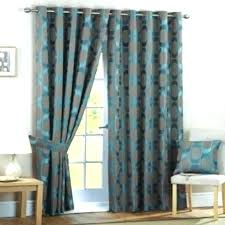 Brown Turquoise Curtains Turquoise Curtains Rroom Me