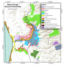 Ca State Parks Map by Research Permits Elkhorn Slough