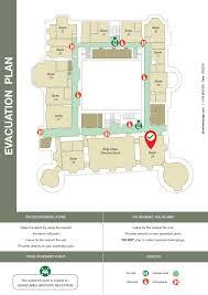 hotel evacuation plan fire evacuation plans pinterest