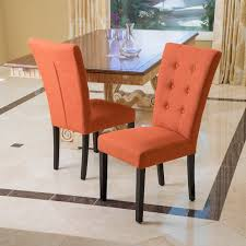 the awesome color choice of burnt orange accent chair for houses