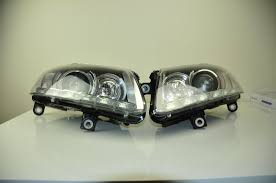 audi a6 4f bi xenon led headlights left right facelift oem euro