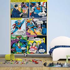 wall easy hang wallpaper mural superman dc comic panel 1 58m x 2 32m 1 wall easy hang wallpaper mural superman dc comic panel 1 58m x 2 32m